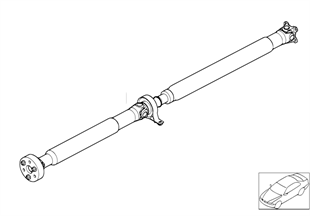 Drive shaft (swivel joint)