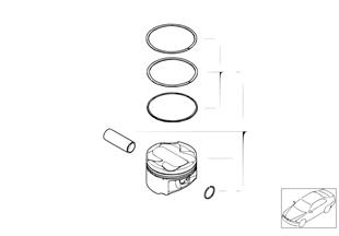 Klikový mechanismus-píst