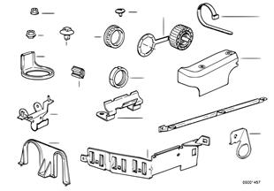 Kablo grubu, Sabitleme parçaları