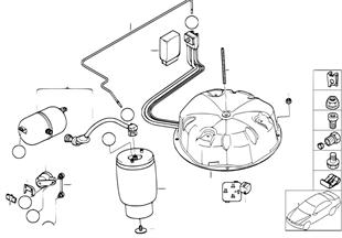 Regulacja poziomu-pod. pneum./sterownik