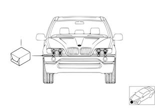 Retrofit kit, headlight cleaning system