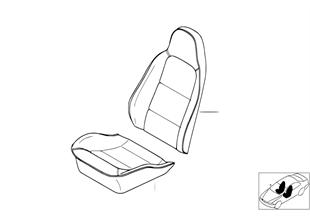 個性化標準座椅、座套及鑲邊