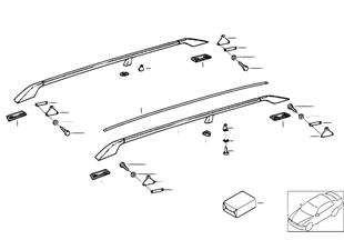 Kap onderdelen railing