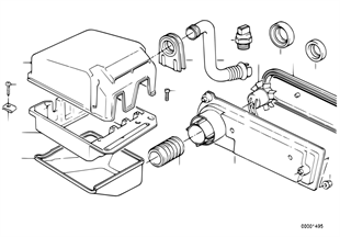Rele motor/caja d.mecanismo d.mando