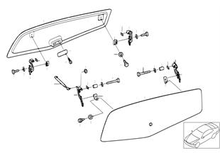 Cobertura peças individ. tampa lateral