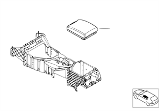 Retrofit, armrest front