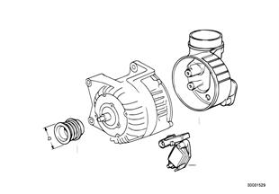 Dynamo afzonderlijke onderdelen 80A