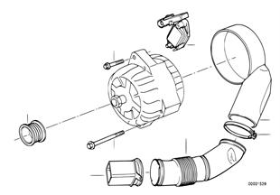 Generator Einzelteile 100A
