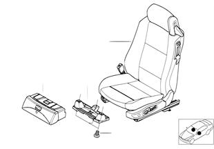 Fotel przedni kompletny