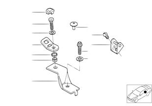 ホルダー、チャイルド シート固定部