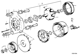 Alternator parts 65a