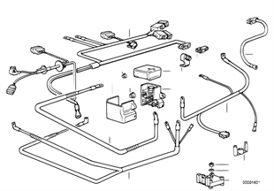 Battery cable/cable starter