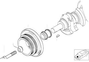 Řem.pohon tlumič kmitů