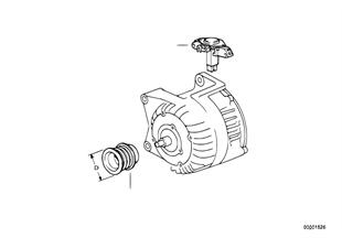 オルタネーター個別部品 70A Bosch