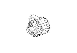 Compact alternator