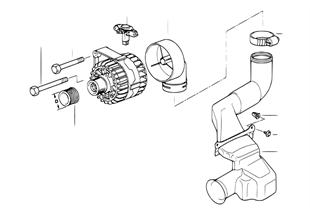 Generator Einzelteile  80A