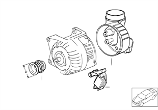 Generator Einzelteile 115A