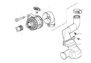 Детали генератора на 120 А
