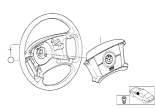 Рулевое колесо с НПБ