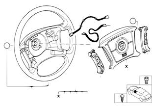 Volant Airbag multifunkční