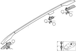 Декоративная планка крыши/леер