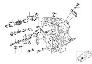 Getrag 260/6 inner gear shifting parts