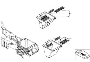 Отделение с блоком для компакт-дисков