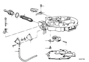 Karburátor montážní díly