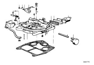 Pezzi montabili di carburatore