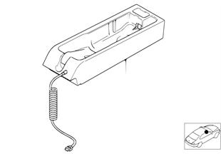 Single parts, SA 627, center console