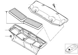 Microfiltre/pièces de carter