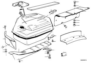 Kraftstofftank/Anbauteile