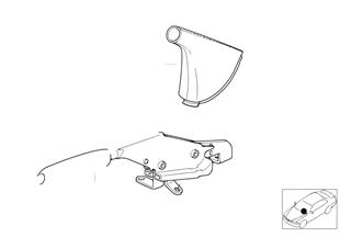 個性化的手制動桿 / 蓋板