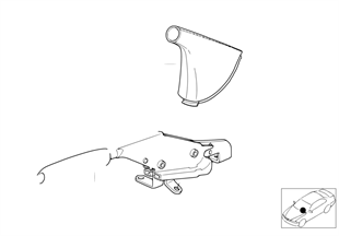 Individual Handbremshebel/Abdeckung