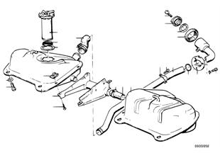 Deposito de combustible/piezas adicional