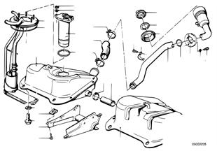 Serbatoio/alimenazione di carburante