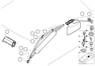 Airbag lato passeggero e airbag testa