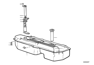 Топливный бак/система подачи топлива