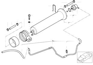 Топливный фильтр/ регулятор давления