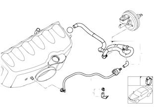 Podtlakové ovládání-motor