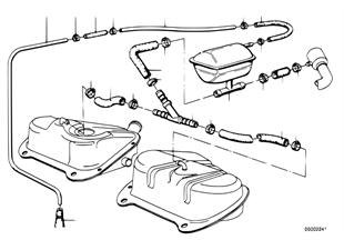 Ausgleichsbehälter/Leitungen