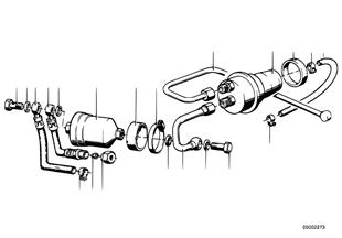 Alimentaz. carburante/filtro/accumulator