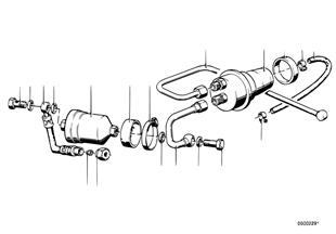 Zasilanie paliwowe/Filtr/Zasobnik