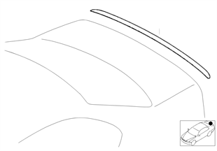 Retrofit, M rear spoiler