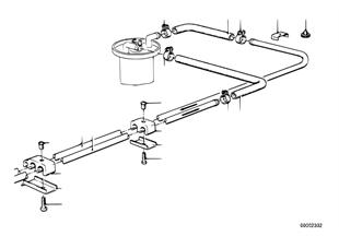 Circuito de combustível/tubos