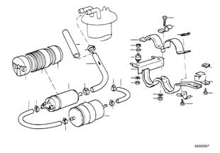 Brandstofpomp/brandstoffilter
