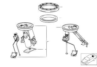 Brandstofpomp / Niveausensor