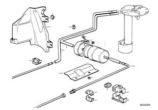 Τροφοδοσία καυσίμου/μονό φίλτρο