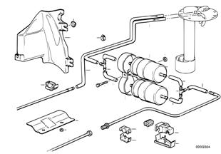 Система подачи топлива/двойной фильтр