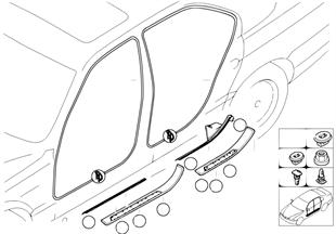 모서리 보호 커버/승강구 트림패널